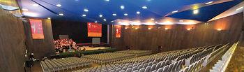 Salón de actos principal del Palacio de Congresos Exposiciones de Albacete, contiguo al Hotel Beatriz.
