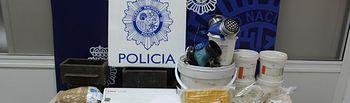 La Policía Nacional interviene 16 kilogramos de heroína a una organización que traficaba entre Holanda y España