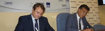 CEOE CEPYME Cuenca y Liberbank firman un convenio que pone a disposición de las empresas 60 millones de euros
