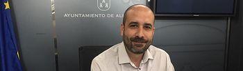 Alfonso Moratalla, portavoz municipal.