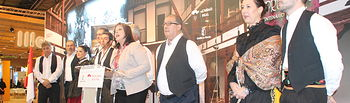 La alcaldesa de Villarrubia de los Ojos, Encarnación Medina, destaca la labor de la cooperativa El Progreso como alma de la villa.