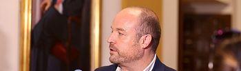 Alejandro Ruiz ,secretario de Organización de Ciudadanos en Castilla-La Mancha y presidente del Grupo Parlamentario de la formación naranja en las Cortes regionales.