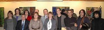 Foto de familia tras la entrega de los premios.