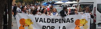 'II Marcha por la Inclusión' de Valdepeñas