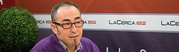 Francisco de la Rosa, secretario general provincial de CC.OO. en Albacete.