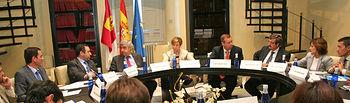 La vicepresidenta y consejera de Economía y Hacienda, María Luisa Araújo, se reunió hoy con el patronato de la Factoría de Emprendedores para aprobar la memoria de gestión y cuentas anuales del ejercicio económico 2009
