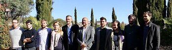 Encuentro de 10 Secretarías Generales Autonómicas de PODEMOS. Foto: Twitter @PodemosAragon
