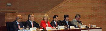 Un momento de la intervención de Pedro Carrión.