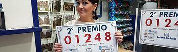 Segundo Premio Lotería Nacional vendido en Albacete - 20-01