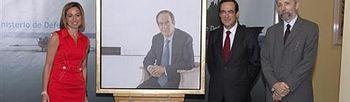 Carme Chacón. Foto: Ministerio de Defensa