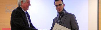 Pablo Prieto recibe el Premio Trabit