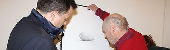 Clausurado el X Curso de la Cátedra Extraordinaria 'Ciudad de Albacete' que ofrece el pintor Antonio López. Foto: Ayuntamiento de Albacete.