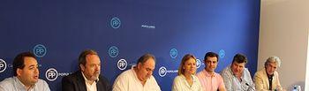 Comité Ejecutivo del PP-CLM en Albacete, presidido por María Dolores Cospedal.
