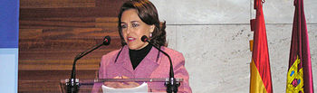 La consejera de Administraciones Públicas y Justicia, Magdalena Valerio, ha inaugurado hoy, en la Delegación Provincial de Salud y Bienestar Social de Guadalajara, el VII Curso de Formación Inicial de Voluntarios de Protección Civil en la provincia de Guadalajara.