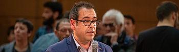 Juan Ramón Crespo, coordinador regional de IU. Foto: Jose Camo