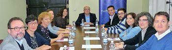 La Casa Perona acogió la constitución del Comité Organizador del VII Congreso Internacional de Arte Efímero, que se celebrará en 2018, y cuya sede será Elche de la Sierra