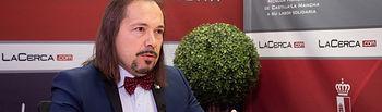 Víctor Raúl López Ruiz, director de la IV Semana Universitaria y Cervantina en honor a Alfonso Ruiz Castellanos