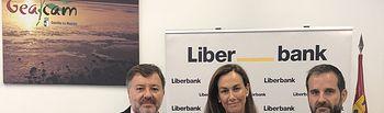 Convenio firmado entre Liberbank y GEACAM.