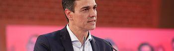 Pedro Sánchez en León. Foto: Eva Ercolanese.