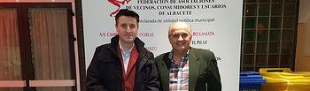 Pedro Soriano anima a seguir el ejemplo de los deportistas premiados en la Gala del Deporte Vecinal.