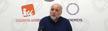 José María Fernández, portavoz del grupo Izquierda Unida-Podemos en el Ayuntamiento de Toledo.