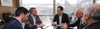 Visita a empresas en la provincia de Cuenca.