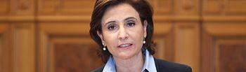 Marta Garcia de la Calzada, interviene en el Pleno de las Cortes Regionales. Foto: JCCM.