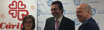 La Fundación Educatio Servanda, comprometida con Cáritas Diocesana de Toledo