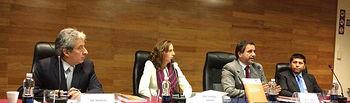 Gemma Patón ha presentado su libro en la Pontificia Universidad Católica del Perú.