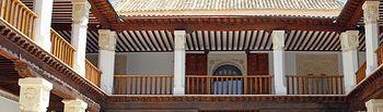 Patio del Palacio de Fuensalida. Foto: JCCM.