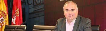 Constantino Berruga, en rueda de prensa.