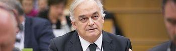El Portavoz del PP y Vicepresidente primero del Grupo PPE en el Parlamento Europeo, Esteban González Pons.