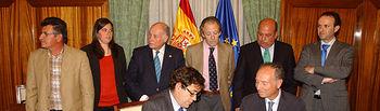 Firma convenio sector equino. Foto: Ministerio de Agricultura, Alimentación y Medio Ambiente