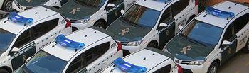 La Guardia Civil de Albacete recibe 15 vehículos nuevos para distintas unidades de la Comandancia