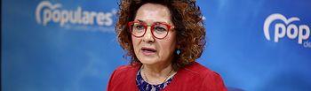 Carmen Riolobos, diputada nacional del PP.