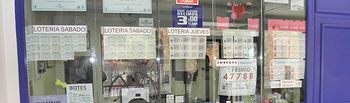 Administración número 7 de Guadalajara vende el primer premio del sorteo de Lotería Nacional, dotado con 600.000 euros