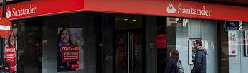 Sucursal del Banco Santander en Albacete.