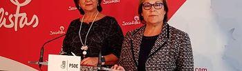 Matilde Valentín y Soledad Velasco