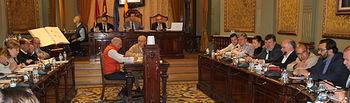 Pleno Diputación Albacete.