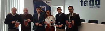 La Federación de Comercio de Albacete colabora con la Junta de Cofradías en la promoción de la Semana Santa de Albacete