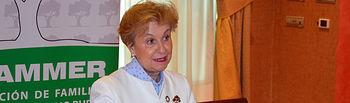 Carmen Quintanilla, presidenta Nacional de AFAMMER.