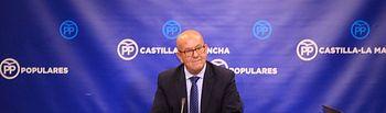 Emilio Bravo, diputado regional del Grupo Parlamentario Popular en las Cortes Regionales.