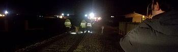 Descarrila un tren sin volcar de la línea Madrid-Zafra en el kilómetro 84, a la altura de Torrijos. Foto Twitter @TrenTorrijos