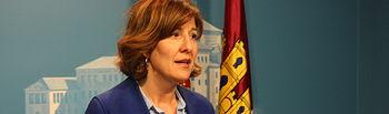 Blanca Fernández, portavoz del PSOE en las Cortes de CLM.