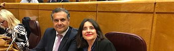 Manuel Miranda y Donelia Roldán.