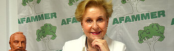 Carmen Quintanilla Barba.  Presidenta Nacional de AFAMMER