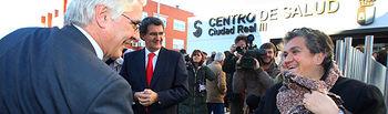 El presidente de Castilla-La Mancha, José María Barreda, ha inaugurado hoy el Centro de Salud Ciudad Real III.