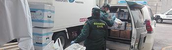 El Ayuntamiento de Peñascosa dona material sanitario de protección al hospital de Albacete.