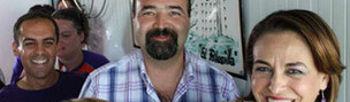 Valerio estuvo en Anduva con varios miembros del Grupo Municipal Socialista (Foto: eldecano.es)