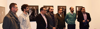 Inauguración de la exposición.